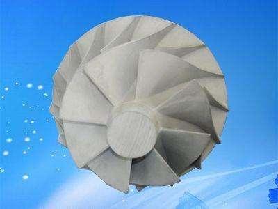 一种涡轮增压器叶轮结构的制作方法